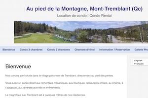 Gîte Condo au Pied de la Montagne - Laurentides, Mont-Tremblant