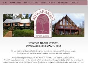 Miwapanee Lodge - Abitibi-Témiscamingue, Kipawa