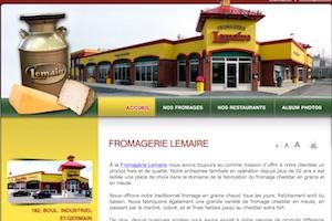 Fromagerie Lemaire - -Centre-du-Québec-, Saint-Cyrille-de-Wendover