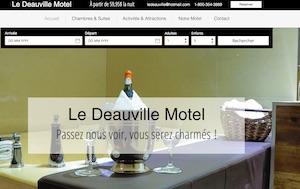Le Deauville Motel - Mauricie, Trois-Rivières