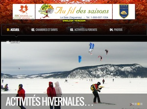 Gîte Au Fil des Saisons - Saguenay-Lac-Saint-Jean, Saguenay (Saguenay) (V) (La Baie)