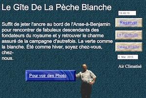 Gîte de la Pêche Blanche - Saguenay-Lac-Saint-Jean, Saguenay (Saguenay) (V) (La Baie)
