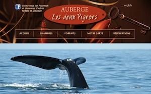 Auberge les Deux Pignons - Saguenay-Lac-Saint-Jean, Petit-Saguenay (Saguenay)