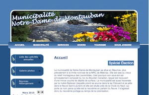 Municipalité de Notre-Dame-de-Montauban - Mauricie, Notre-Dame-de-Montauban