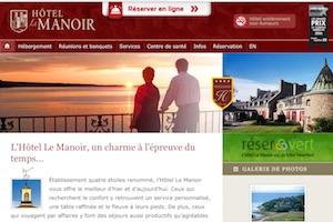 Hôtel Le Manoir - Côte-Nord / Manicouagan, Baie-Comeau