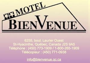 Motel Bienvenue - Montérégie, Saint-Hyacinthe