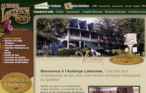 Auberge Lakeview INN - Estrie / Canton de l'est, Lac-Brome