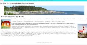 Gîte du Phare de Pointe-des-Monts - Côte-Nord / Manicouagan, Baie-Trinité