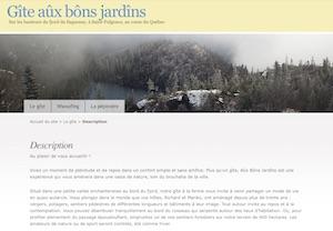 Gîte Aux Bons Jardins - Saguenay-Lac-Saint-Jean, Saint-Fulgence (Saguenay)