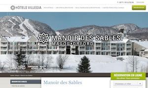 Hôtels Villagia Manoir des Sables - Estrie / Canton de l'est, Magog