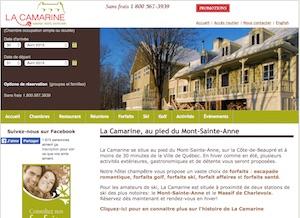 Auberge La Camarine - Capitale-Nationale, Ville de Québec (V) (Beauport)