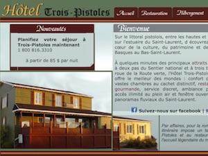 Hôtel Trois-Pistoles - Bas-Saint-Laurent, Trois-Pistoles