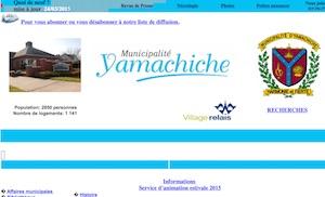 Municipalité de Yamachiche - Mauricie, Yamachiche