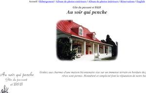 Gîte Auberge au Soir qui Penche - Chaudière-Appalaches, Saint-Roch-des-Aulnaies (Côte-du-Sud)