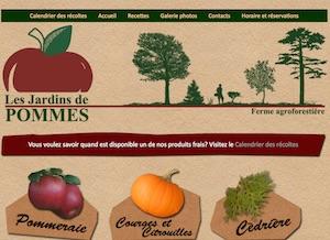 Les Verger Jardins de Pommes - Estrie / Canton de l'est, Saint-Denis de Brompton