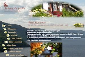 Auberge du Jardin - Saguenay-Lac-Saint-Jean, Petit-Saguenay (Saguenay)