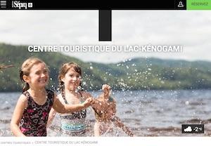 Centre touristique du Lac Kénogami (Sépaq) - Saguenay-Lac-Saint-Jean, Saguenay (Saguenay) (V) (Jonquière)