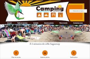 Camping Plage Margot - Saguenay-Lac-Saint-Jean, Saint-Honoré (Lac-St-Jean)