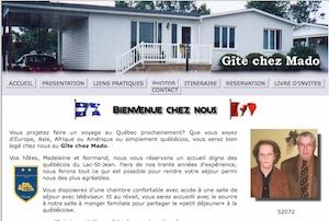 Gîte Chez-Mado - Saguenay-Lac-Saint-Jean, Saint-Félicien (Lac-St-Jean)