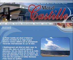 Motel le Castille - Saguenay-Lac-Saint-Jean, Roberval (Lac-St-Jean)