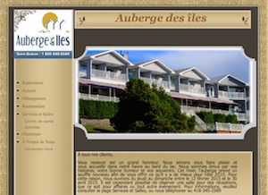 Auberge des Îles - Saguenay-Lac-Saint-Jean, Saint-Gédéon (Lac-St-Jean)