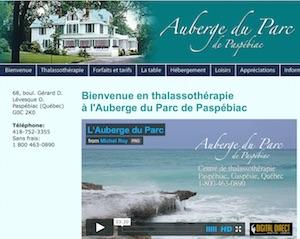 Auberge du Parc - Gaspésie, Paspébiac