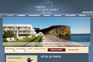 Auberge Les Trois Soeurs Motels - Gaspésie, Percé