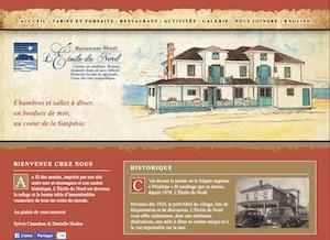 Motel L'Étoile du Nord - Gaspésie, Pointe-à-la Frégate