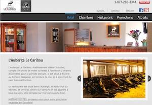Auberge Le Caribou / Resto-Pub La Révolte - Gaspésie, Ville de Gaspé (Rivière-au-Renard)
