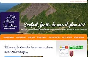 Le Délice Motel Restaurant - Gaspésie, Mont-Saint-Pierre