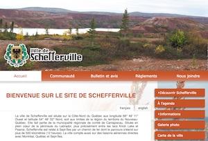 Ville de Shefferville - Côte-Nord / Duplessis, Schefferville