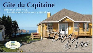 Gîte du Capitaine - Gaspésie, Percé