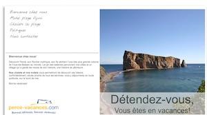 Chalets La Plage - Gaspésie, Percé