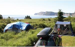 Camping des Rosiers (Parc Canada) - Gaspésie, Parc National Forillon
