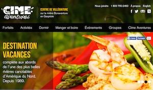 Camping Cime Aventures - Gaspésie, Bonaventure