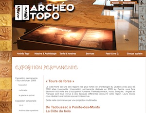 Archéo-Topo - Côte-Nord / Manicouagan, Les Bergeronnes