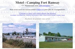 Motel Camping Fort Ramsay - Gaspésie, Ville de Gaspé