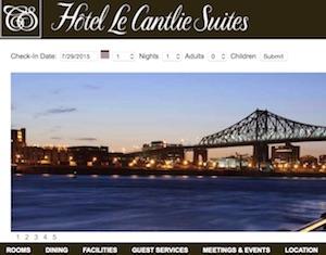 Hôtel Le Cantlie Suites - Montréal, Montréal