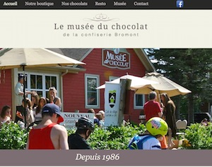 Musée du Chocolat (Confiserie Bromont) - Estrie / Canton de l'est, Bromont