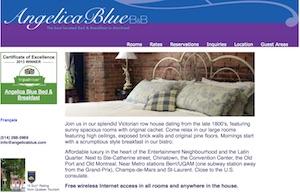 Gîte Angelica Blue Bed & Breakfast - Montréal, Montréal