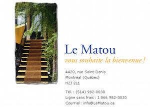 Gîte Le Matou - Montréal, Montréal