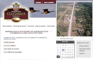 Municipalité de Colombier - Côte-Nord / Manicouagan, Colombier