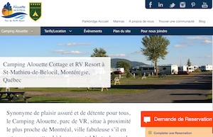 Camping Alouette - Montérégie, Saint-Mathieu-de-Beloeil