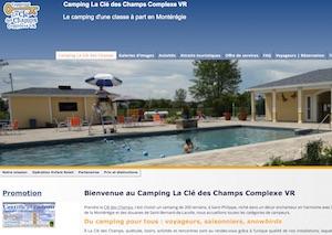 Camping la Clé des Champs - Montérégie, Saint-Philippe