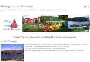 Auberge du Lac du Pin Rouge - Laurentides, Saint-Hippolyte