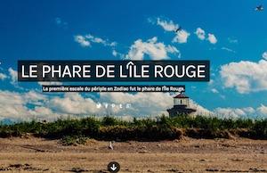 Le Phare de L'Île Rouge - Côte-Nord / Manicouagan, Tadoussac