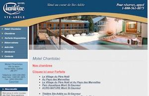 Motel Chantolac - Laurentides, Sainte-Adèle