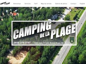 Camping de la Plage - Laurentides, Rivière-Rouge