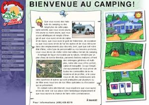 Camping Au Pin d'Érable - Laurentides, Sainte-Sophie