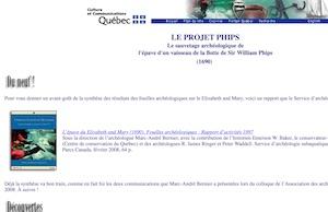 Exposition Épave Phips - Côte-Nord / Manicouagan, Baie-Trinité